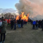 Osterfeuer in Hoogstede