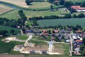 "Baugebiet ""Möllenkamp IV"" (Luftaufnahme Mai 2015"