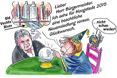 Cartoon Wollo Neujahrsempfang 2015