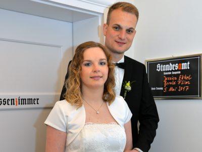 Jesssica Ekkel und Gerold Flim
