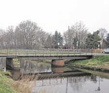 Baustelle Nöst Brücke