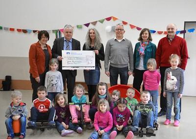 Spende Gemeinde-nvb Kindergarten Sonnenschein