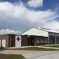 Das neue Vereinsheim des DRK-Ortsverbandes Hoogstede (Im Dorf 2)
