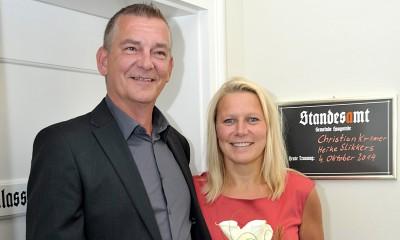 Heike Slikkers und Christian Kremer
