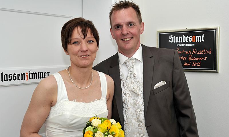 Gudrun Hesselink und Peter Bouwers