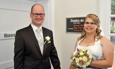 Jennifer Koelmann und Holger Engbers