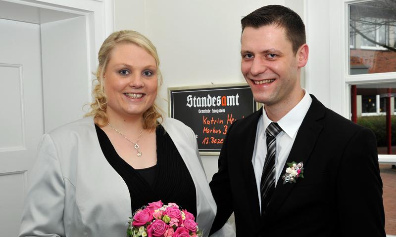 Katrin Hemke und Markus Brüning