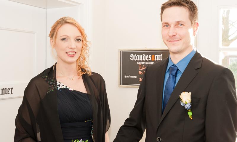 Meike Lukowiak und Björn Jahnke