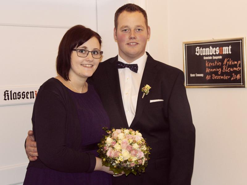 Kerstin Nykamp und Henning Bleumer