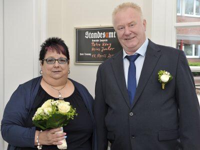 Petra König und Heinz Jonker