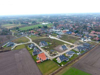 """Baugebiet """"Möllenkamp IV"""" (Luftaufnahme Dezember 2016)"""