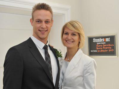 Dennis Hindriks und Elena Spornikova