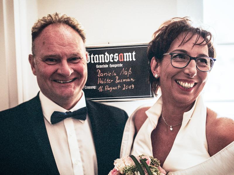 Daniela Naß und Walter Bosman
