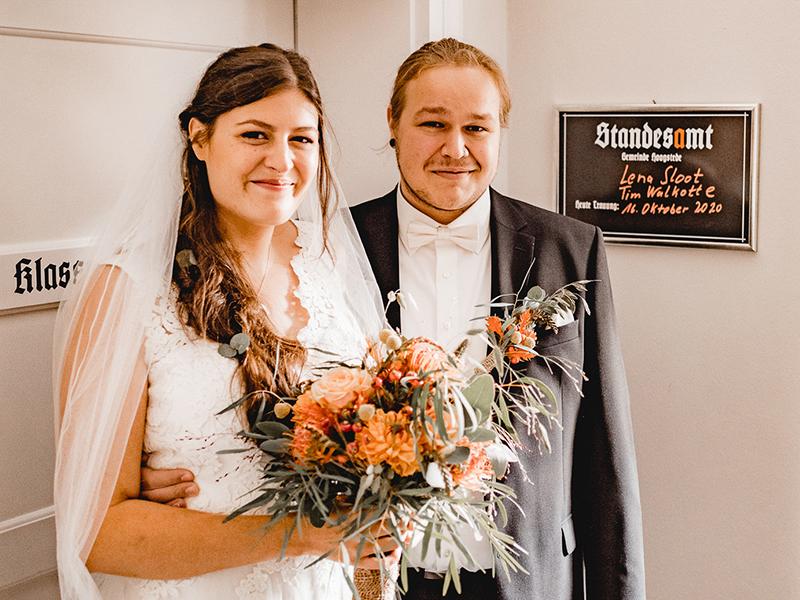 Lena Sloot und Tim Walkotte