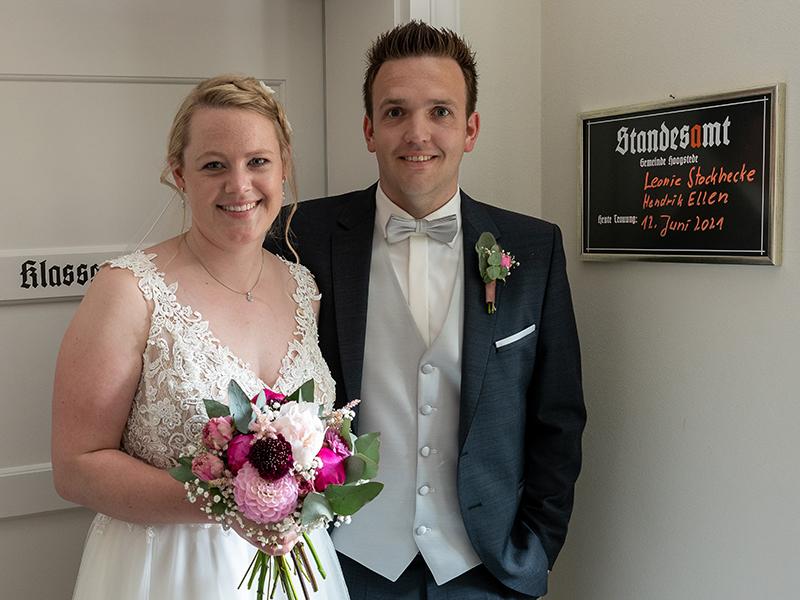 Leonie Stockhecke und Hendrik Ellen