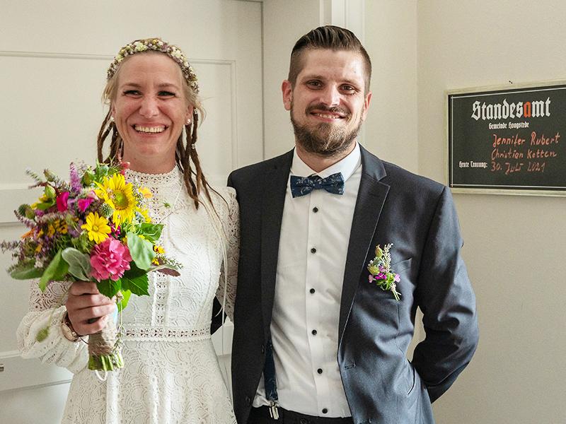 Christian Kotten und Jennifer Rubert