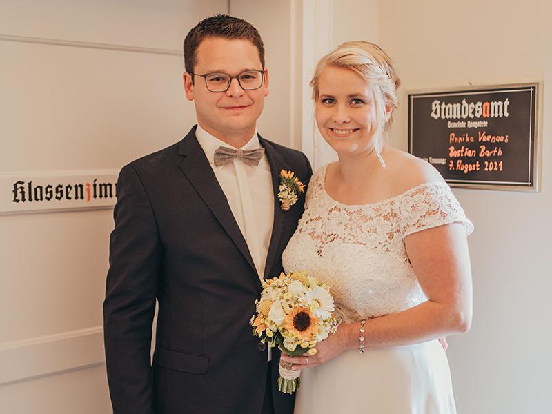 Annika Veenaas und Bastian Barth