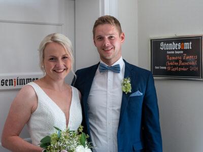 Christian Bloemenda und Ramona Zweers